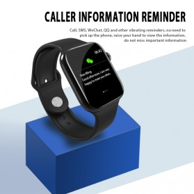 SKMEI Smartwatch Jam Tangan Olahraga Pedometer W4 - Black - 6