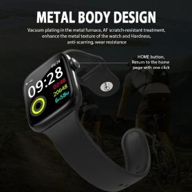SKMEI Smartwatch Jam Tangan Olahraga Pedometer W4 - Black - 7