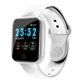 SKMEI Smartwatch Sport Fitness Tracker Heart Rate - I5 - Silver
