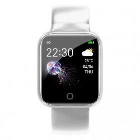 SKMEI Smartwatch Sport Fitness Tracker Heart Rate - I5 - Silver - 3
