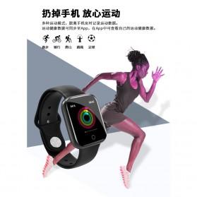 SKMEI Smartwatch Sport Fitness Tracker Heart Rate - I5 - Silver - 6