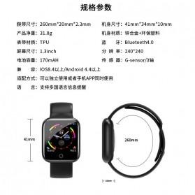 SKMEI Smartwatch Sport Fitness Tracker Heart Rate - I5 - Silver - 10