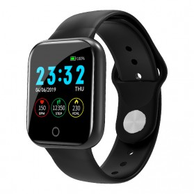 SKMEI Smartwatch Sport Fitness Tracker Heart Rate - I5 - Black - 1