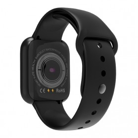 SKMEI Smartwatch Sport Fitness Tracker Heart Rate - I5 - Black - 2