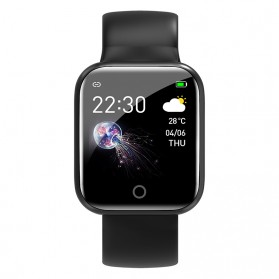 SKMEI Smartwatch Sport Fitness Tracker Heart Rate - I5 - Black - 3