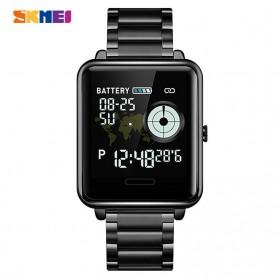 SKMEI Smartwatch Sport Fitness Tracker Heart Rate - 1648 - Black
