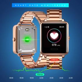 SKMEI Smartwatch Sport Fitness Tracker Heart Rate - 1648 - Black - 3