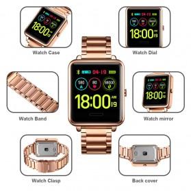 SKMEI Smartwatch Sport Fitness Tracker Heart Rate - 1648 - Black - 6