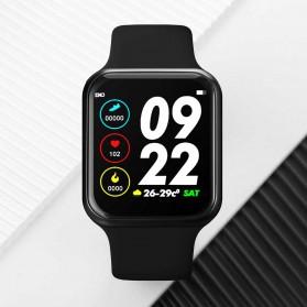 SKMEI Smartwatch Sport Fitness Tracker Heart Rate Blood Pressure - F8S - Black