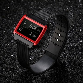 Remax Sport Smartwatch Bluetooth 4.0 - RBW-W2 - Black/Red
