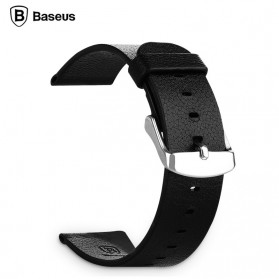 Baseus Classic Real Leather Band for Apple Watch 42mm Series 1 & 2 - Black