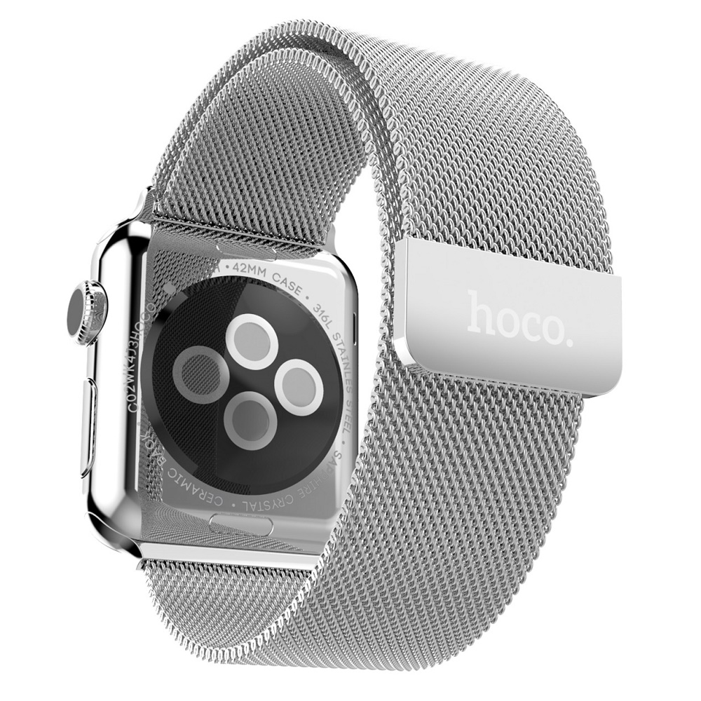 hoco apple watch series 2 1 stainless steel strap 38mm silver When launched
