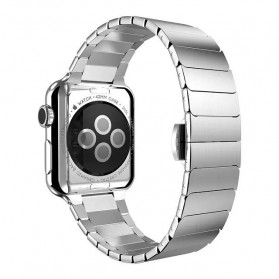 Hoco Link Style Stainless Steel Band for Apple Watch 42mm Series 1 & 2 - Silver
