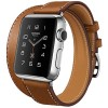 Hoco Art Series Genuine Real Leather Strap for Apple Watch 42mm Series 1 & 2 - Brown