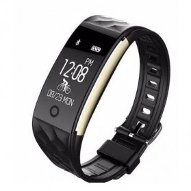 Awei Jam Tangan Smartwatch Sport Fitness Notification - H1 - Black - 2