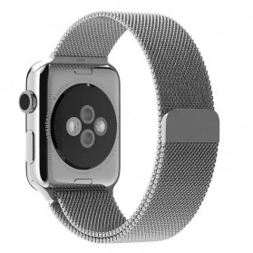 Milanese Watchband untuk Apple Watch 38mm Series 1 & 2 - Silver