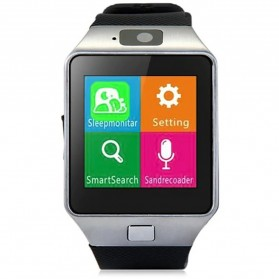 DZ09 Smartwatch WatchPhone GSM for Android - Silver - 2