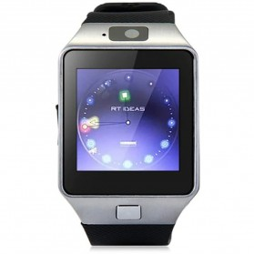 DZ09 Smartwatch WatchPhone GSM for Android - Silver - 3