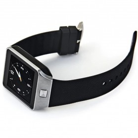 DZ09 Smartwatch WatchPhone GSM for Android - Silver - 4