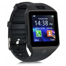 DZ09 Smartwatch WatchPhone GSM for Android - Black - 2