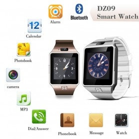 DZ09 Smartwatch WatchPhone GSM for Android - Black - 3