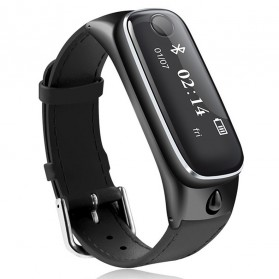 SAMTAO Smartwatch Headset Bluetooth - M6 - Black