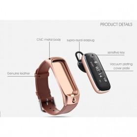 SAMTAO Smartwatch Headset Bluetooth - M6 - Black - 5