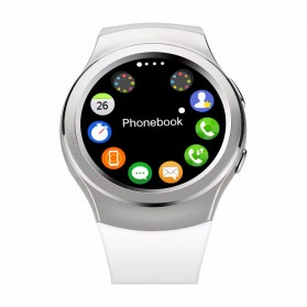 Frezen Smartwatch Bluetooth for iOS Android - Silver - 2