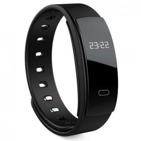 Smart Sport Wristband Fitness Tracker Bluetooth Heart Rate Sensor - Black