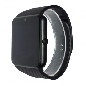 Smartwatch Sporty Sim Card Bluetooth for Android - GT08 - Black/Black