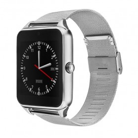 Smartwatch Sporty Sim Card Bluetooth for Android - GT08 Z60 - Silver