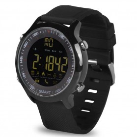 Cawono Smartwatch Tracker Aktifitas Sporty Outdoor - EX18 - Black