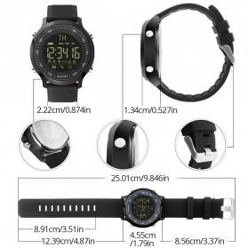 Cawono Smartwatch Tracker Aktifitas Sporty Outdoor - EX18 - Black - 4