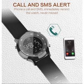 Cawono Smartwatch Tracker Aktifitas Sporty Outdoor - EX18 - Black - 6