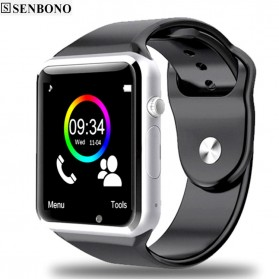 Senbono Smartwatch Elegan - A1 - Black