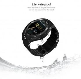 Sporty Smartwatch Bluetooth SIM Card for Android iOS - Y1 - Black - 3