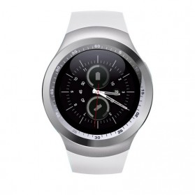 Sporty Smartwatch Bluetooth SIM Card for Android iOS - Y1 - Black - 4