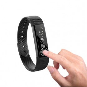 ID 115 Smartwatch Bracelet Fitness Tracker - Black - 2
