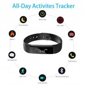 ID 115 Smartwatch Bracelet Fitness Tracker - Black - 3