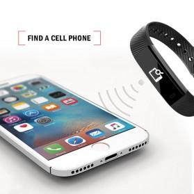 ID 115 Smartwatch Bracelet Fitness Tracker - Black - 5