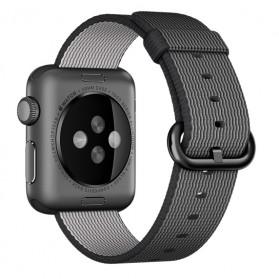 Tali Jam Tangan Nylon Apple Watch Series 1/2/3/4 - 42mm - Black White - 2