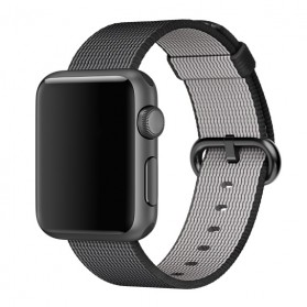 Tali Jam Tangan Nylon Apple Watch Series 1/2/3/4 - 42mm - Black