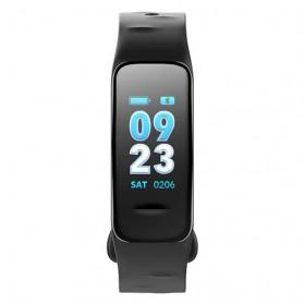 Wearfit Smartwatch Wristband LED Fitness Tracker Heart Rate Waterproof - C1S - Black - 2