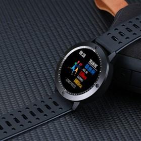 SENBONO Smartwatch Sporty Fitness Tracker Heartrate Monitor Waterproof - CF58 - Black - 6