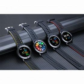 SENBONO Smartwatch Sporty Fitness Tracker Heartrate Monitor Waterproof - CF58 - Black - 8