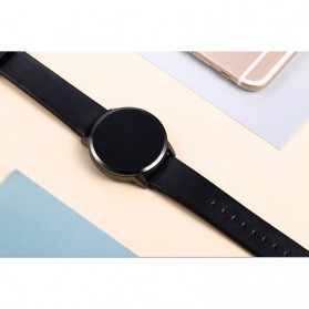 Smartwatch Sporty Fitness Tracker Android iOS Strap Leather - Q8 - Black - 2