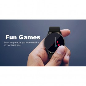 Smartwatch Sporty Fitness Tracker Android iOS Strap Leather - Q8 - Black - 9