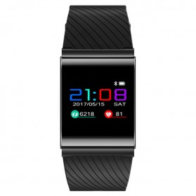 Smartwatch Sporty Fitness Tracker Android iOS Strap Silicone - X9 Pro - Black