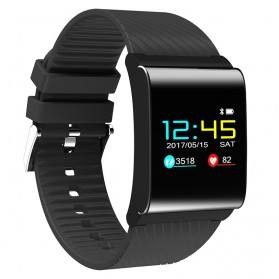Smartwatch Sporty Fitness Tracker Android iOS Strap Silicone - X9 Pro - Black - 2
