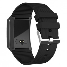 Smartwatch Sporty Fitness Tracker Android iOS Strap Silicone - X9 Pro - Black - 3